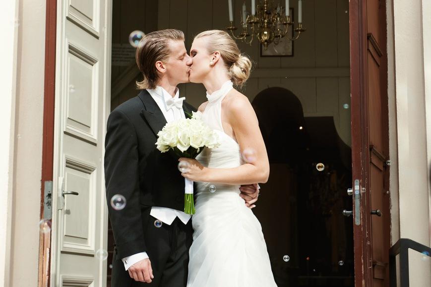 Bröllopsfoto Mia & Peter